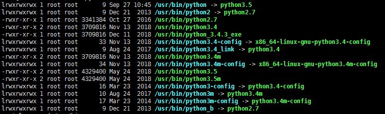 ls命令检查Python